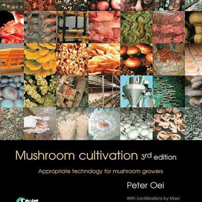 Cover of Mushroom Cultivation by Peter Oei